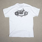 Image of Sportster-Smokin Big Twins-White