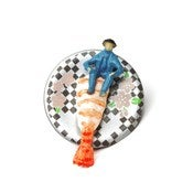 Image of Mini-Man Sushi Pin