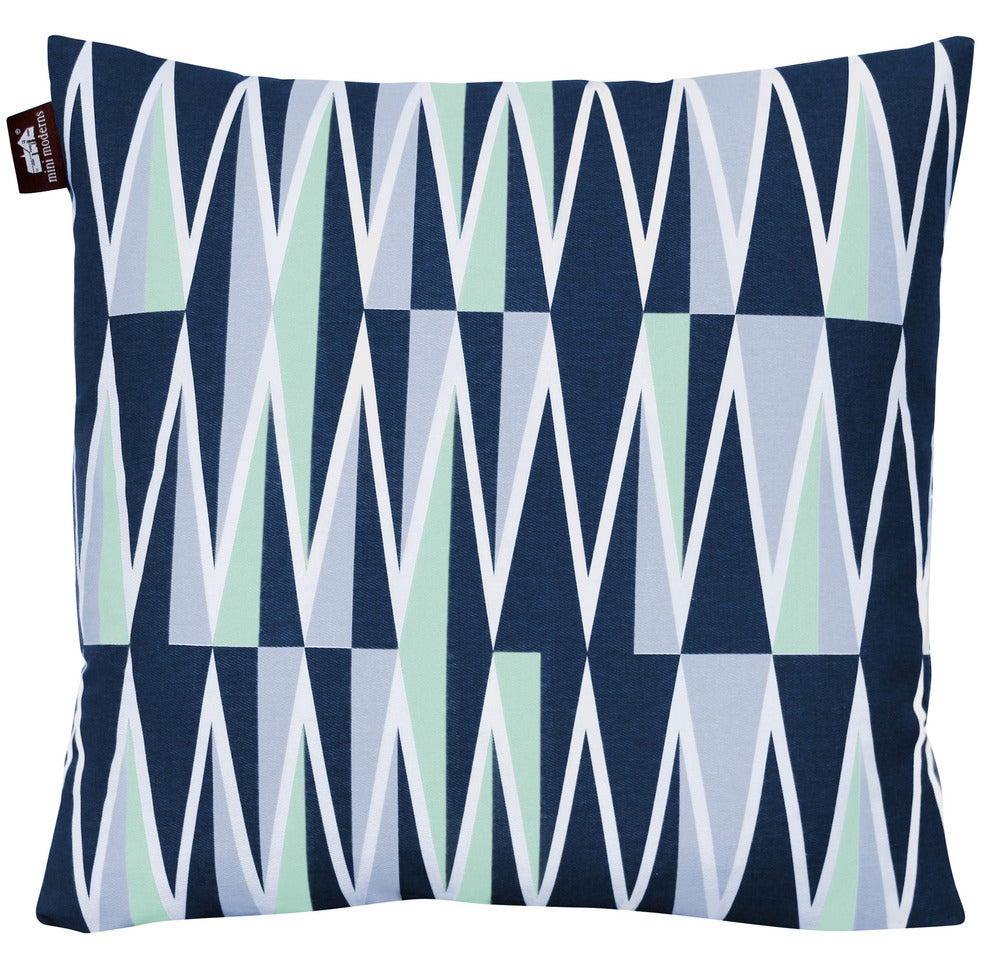 Image of Jacquet Cushion - Chalkhill Blue