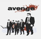 Image of AVENGE Reservoir Dogs parody tee