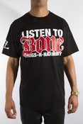 Image of Listen to Bone tee
