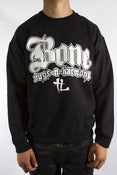 Image of BONE Black Crewneck Sweater