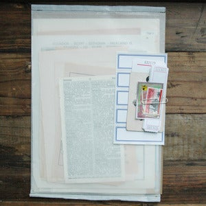 Image of vintage paper pack
