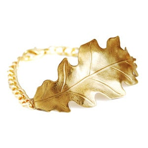 Image of Oak Leaf Bracelet