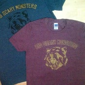 Image of Big Scary Monsters bear shirt