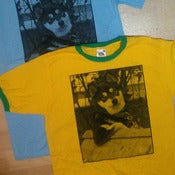 Image of Big Scary Monsters dog t-shirt