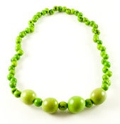 Image of Azaid Bombona Necklace Green