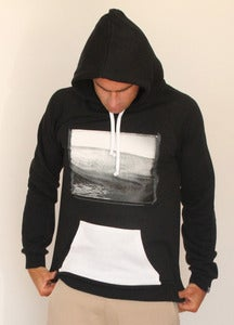 "Image of SEN NO SEN hoodie photo ""wave"" by Jeff Levingston"
