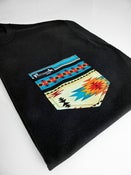 Image of Blue Aztec Pocket Tee Unisex