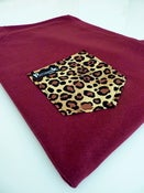 Image of Leopard Pocket Tee Unisex