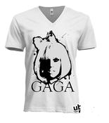 Image of Lady Gaga Stenciled Tee