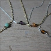 Image of Single Glass Bead Necklace