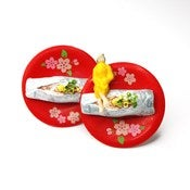 Image of Mini-Chick Sushi Earings