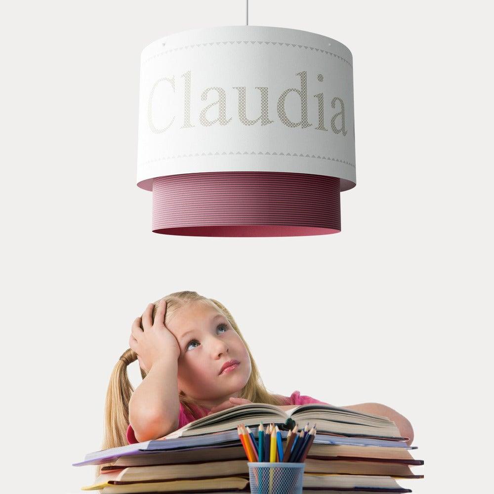 """Image of Lámpara infantil de suspensión (personalizable) """"NOMBRES"""""""