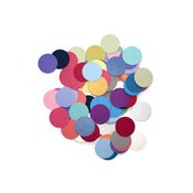 Image of Metallic pearl dot confetti, 1&quot;