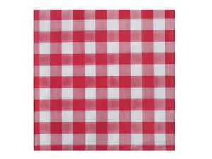Image of Checkered Paper Napkins