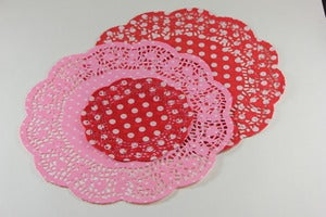 Image of Polka Dot Doilies