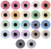 Image of ** NEW ** Rainbow Twine Bundle - 22 FULL TWINE SPOOLS - one spool of each color!