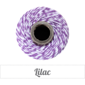 Image of Lilac - Purple &amp; White Baker's Twine
