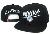 "Image of NEW! Mishka ""Keep Watch"" Snapback Hat Collection"