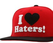 "Image of NEW! DGK ""I Love Haters"" Snapback Hat Collection - Set 2"