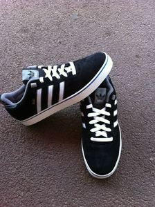 Image of ADIDAS silas 2 black-white