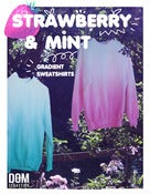 Image of Strawberry / Mint Gradient Sweatshirt