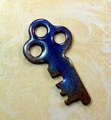 Image of Shimmer Key Purple Rust Three Holes