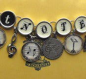 Image of Got Notes Charm Bracelet for Musicians