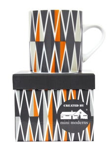 Image of Backgammon Porcelain Mug - Jacquet