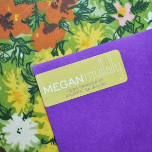 Image of Megan Mullally Return Address Labels