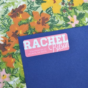 Image of Rachel Bilson Return Address Labels