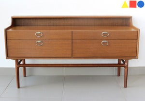 Image of ENFILADE SCANDINAVE EN TECK ANNES 60 - REF.1103
