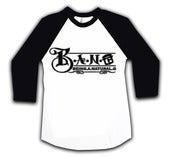 Image of B.A.N.G. BASEBALL SHIRT