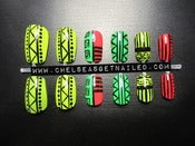 Image of Tribal Press On Nails