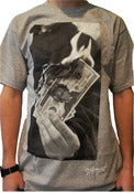 Image of Money to Burn Tee - Heather Grey
