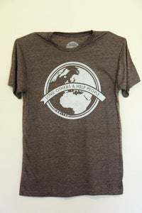Image of Unite World Tee BRWN (Unisex)