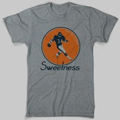 Image of Walter Payton Sweetness T-Shirt | Heather Gray