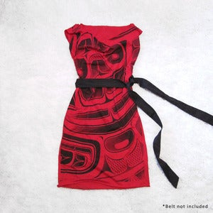 Image of Red Sea Monster Tunic Dress