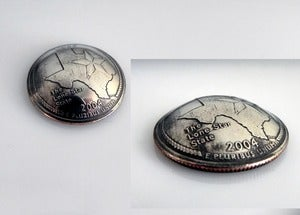 Image of Domed Quarter Golf Ball Marker