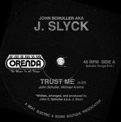 Image of SLYCK - Trust Me - Talk To Me OFFICIAL PRESS 45RPM 12&quot; Boogie funk