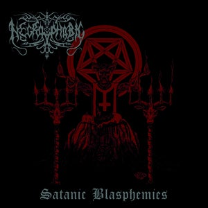 Image of Necrophobic - Satanic Blasphemies CD