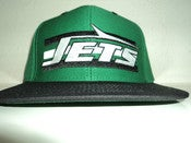 Image of NEW YORK JETS  VINTAGE SNAPBACK