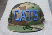 Image of CAMO CATS NEW ERA FITTED HAT