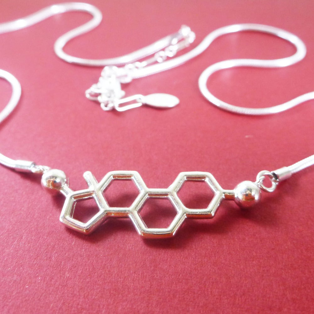 Image of estrogen necklace