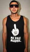 Image of Me Vale Madre Black Tank Top