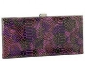 Image of Snakeskin Lodis Clutch Wallets (Various Colors)