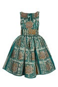 Image of Marine Blue Empire Line Dress