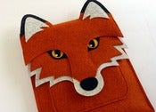 Image of Fox - MacBook Pro 15 inch sleeve - MADE TO ORDER