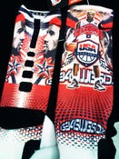 Image of NEW Long Live King Bron USA G34SwgSox design W/( Optional) Matching laces